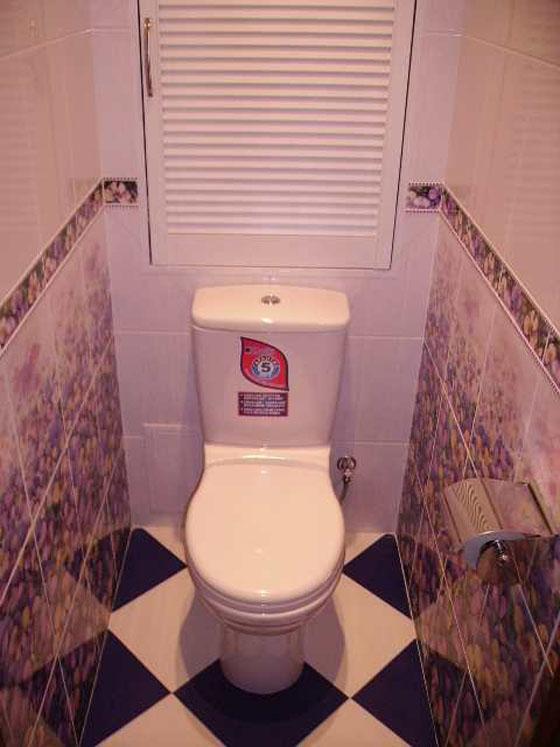 Ремонт туалетов в квартире фото